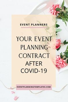 There are some things that should be included or revised in your event   planning contract after Covid-19. Global Pandemics are not something that we typically plan for, no matter what business you are in. So how do you make sure that everyone is protected as much as possible after Covid-19? #weddingplanner #eventplanner #businesstips #eventplanningcontract #weddingplanningcontract #contractforeventplanners #contractforweddingplanners #covidproofyourbusiness #pandemicbusinesstips