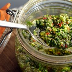 Un poco de Uruguay: Chimichurri - Secreto Food Project