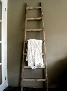 ladder more houten ladders rustic ladders decoration ladders verkocht ...