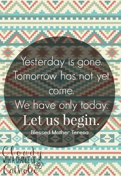 Blessed Mother Teresa quote