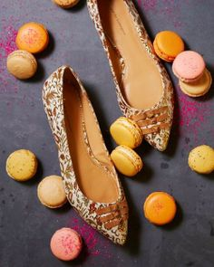 The Terrier and Lobster: Macarons and Shoes in Anthropologie