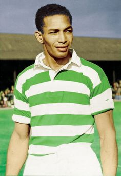 Gil Heron, a Jamaican-born immigrant to the United States, top scorer in the first season of the first North American Soccer Leage,  In 1946, his prolific goal scoring earned him a trial at Glasgow Celtic. He won a professional contract and moved to Scotland - shortly after the birth of his son Gil Scott-Heron in Chicago - becoming Celtic's first black player.
