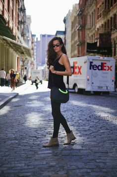 Gitane - The Londoner - LOVE the outfit in this post. Very much my style with the all-black ensemble.