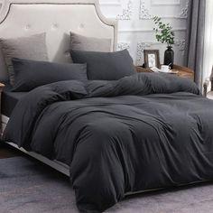 Bed Comforter Sets, Grey Comforter, Cotton Bedding Sets, Comforter Cover, Cotton Duvet, Duvet Cover Sets, Comforters, Cotton Fabric, Linen Duvet