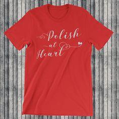 Excited to share the latest addition to my #etsy shop: Polish At Heart, Unisex T-Shirt, Poland, Polish, Polish Flag, Poland T-Shirt, I Love Poland http://etsy.me/2nGhx22 #clothing #shirt #polishatheart #poland #polish #polishflag #polandtshirt #ilovepoland #polonia