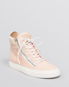 Giuseppe Zanotti Lace Up High Top Sneakers - London from Bloomingdale's