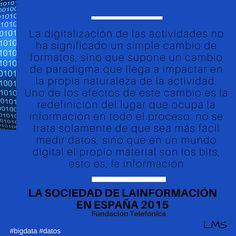 digitaliacion cambio de paradigma | Open Big Data Management