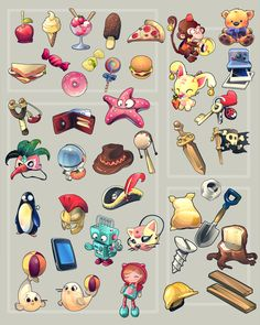 edian: Icons for Adventure Park