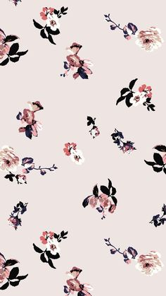 New wallpaper iphone vintage flowers rose floral prints Ideas New Wallpaper Iphone, Hipster Wallpaper, Trendy Wallpaper, Home Wallpaper, Cellphone Wallpaper, Flower Wallpaper, Pattern Wallpaper, Cute Wallpapers, Wallpaper Backgrounds