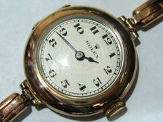 Rolex 本物!希少!ROLEXレディース1950年代アンティーク手巻き 時計 Watch Antique ¥118000yen 〆12月05日