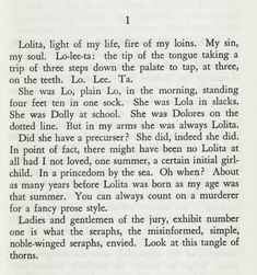 Vladimir Nabokov, Lolita at first sight, at last sight, at ever and ever sight. - Must read beyond this para now Vladimir Nabokov, Lolita Book, Lolita 1997, Pretty Words, Beautiful Words, Simply Beautiful, Poetry Quotes, Book Quotes, Books And Tea