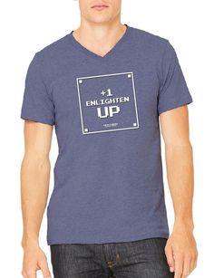 Enlighten Up - Gents V Neck Relaxed