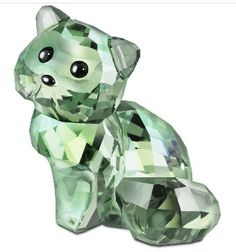 Andy The Cat - Swarovski House of Cats Crystal Figurine. Swarovski Crystal Figurine.