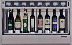 Quattro+4 Wine Dispenser for 4 white wines and 4 red wines simultaneously WineEmotion Wine Dispenser