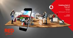 Vodafone Red Activation on Behance
