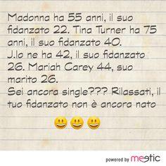 Madonna ha 55 anni.. il suo fidanzato 22. #risate #meetic #incontri #single #amore