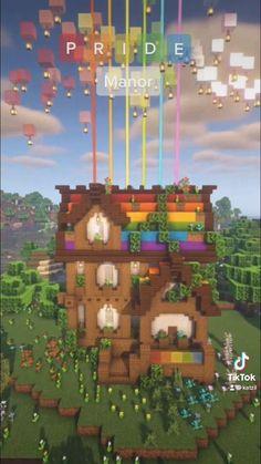 Minecraft Farm, Minecraft Cottage, Cute Minecraft Houses, Minecraft Plans, Minecraft Construction, Minecraft Tutorial, Minecraft Blueprints, Minecraft Creations, Minecraft Memes