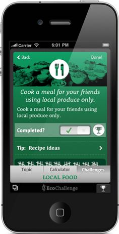 EcoChallenge is your companion app to a more sustainable lifestyle. Take the challenge!