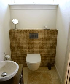 1000 images about interieur badkamers bathrooms on pinterest tubs bathtubs and modern - Wc mozaiek ...