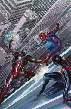 Spider-Man vs. Iron Man by Alex Ross (ASM #13) : Marvel