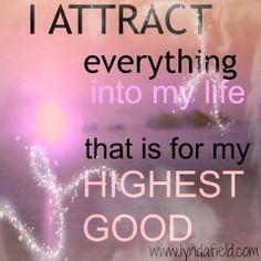 LesleyRose's Mystical Journey: Abundance & Attracting Good to My Life