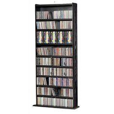 DVD Storage - $227 - Holds 600