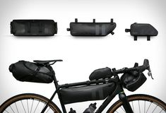 The new Waterproof Bike Packs by Rapha ensure that your gear stays dry and securely accommodated wile commuting on your bike. You have different sizes to choose from, from 1 ltr up to Every model is built with extreme care and is easily mou Touring Bicycles, Touring Bike, Buy Bike, Bike Bag, Bike Accessories, Bike Life, Gears, Bike Packing, Bullet Jewelry