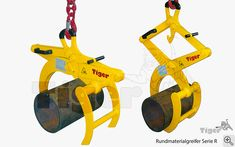 Hebegreifer - Rundmaterialgreifer Garage Tool Storage, Garage Tools, Metal Projects, Welding Projects, Homemade Tools, Diy Tools, Lifting Devices, Crane Lift, Tractor Accessories