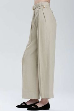 Vintage Chanel Lanester Wide-Leg Trousers