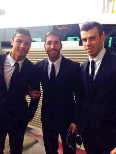 Cristiano Ronaldo, Sergio Ramos, & Gareth Bale #footballislife