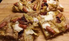 Foodie in Translation: La Rubrica del Lunedì: Pizza carciofi, mini wurste...