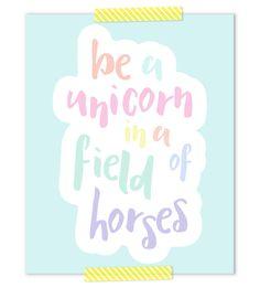 Unicorn+Nursery+Art+
