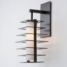 Skyline Outdoor Wall Sconce By Levi Wilson for Hammerton Studio