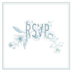 Répondez s'il vous plaît 😘 - Something Blue Semi-Custom Set - launching Wedding Stationary, Something Blue, Product Launch, Feminine, Chic, Instagram Posts, Design, Art, Women's