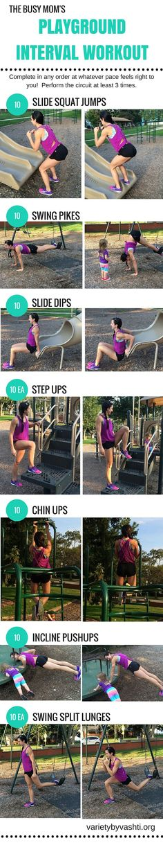 10 Huge Rewards of Taking Your Workout Outside + Circuit Workout for the park!