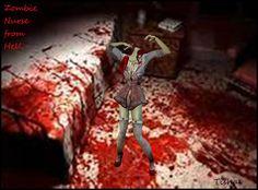 TishaEliza  as  Zombie Nurse from Hell   2012