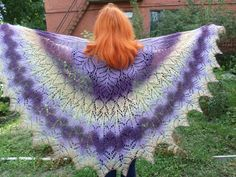 knitted wool shawlwool shawlshawl for by LenaKom on Etsy