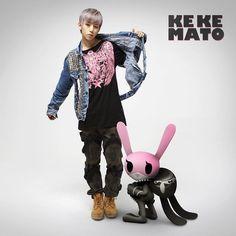 Matoki introduces bunny Kekemato with B.A.P member Daehyun