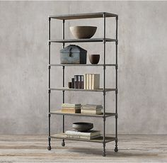 Dutch Industrial Single Shelving