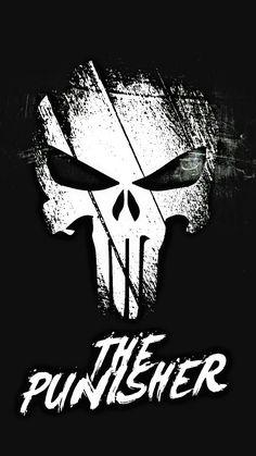 The Punisher o yeah The Punisher, Punisher Comics, Punisher Logo, Punisher Skull, Handy Wallpaper, Skull Wallpaper, Marvel Wallpaper, Wallpaper Backgrounds, Marvel Vs