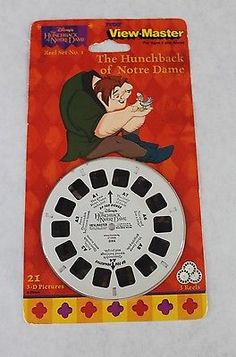 Tyco View Master Reel Set Disney The Hunchback of Notre Dame Set 1 Sealed - Go Shop Hobbies & Toys Disney Collectibles, View Master, Hobby Toys, Classic Toys, Notre Dame, Diecast, Seal, Hobbies, Retro