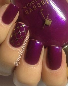 I love simple & elegant nails