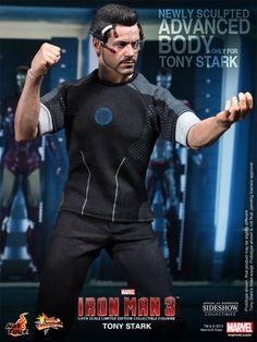 Tony Stark Movie Masterpiece Series Figure