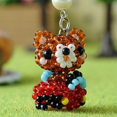 [Tomorrow easy correspondence] bear-series minicar bear ~ / bead kit / motif / animal / handicraft / craft / recipe / How to make to make Rakuten in a round small beads: Baby beads Mania