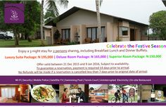 Book Your Xmas Package today  at Epe Resort and Spa, Lagos State.