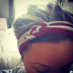 OSU Sailors Knot Headband by noraandjac on Etsy, $10.00 Momo this would be cute in our OSU colors :)