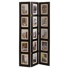 memories photo frame room divider honey 4 panel really great stuff pinterest room dividers divider and memories