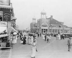 Boardwalk and Steel Pier Atlantic City Vintage 8x10 Reprint of Old Photo | eBay