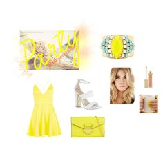 Party by sweet12120 on Polyvore featuring polyvore, fashion, style, AX Paris, Carvela, ALDO, Sandy Hyun, AERIN and clothing