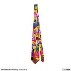 Revol multicolor corbata